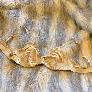 Vintage Calvin Klein nude bra 36C